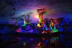 фарфор guilin подземелья 7 звезд Стоковое Фото