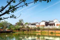 фарфор huizhou зодчества стоковые изображения