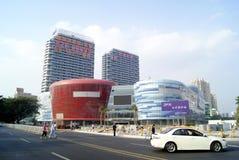 Фарфор Shenzhen: конструкция и дорога города Стоковые Изображения