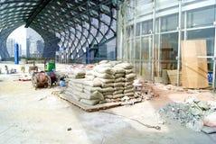 Фарфор Shenzhen: ремонт стадиона Стоковое фото RF