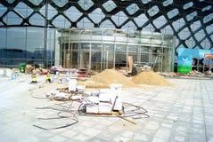 Фарфор Shenzhen: ремонт стадиона Стоковая Фотография