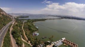 Фарфор Tianchi kunming стоковое фото rf