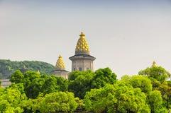 Фарфор wuxi дворца Brahma ориентир ориентира стоковая фотография