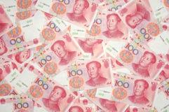 фарфор yuan предпосылки Стоковое Изображение