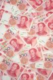 фарфор yuan предпосылки Стоковое Изображение RF