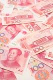 фарфор yuan предпосылки Стоковые Фотографии RF