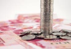 фарфор yuan стоковое изображение