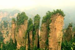 фарфор zhangjiajie Стоковое Изображение