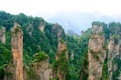 фарфор zhangjiajie Стоковое фото RF