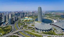 Фарфор Zhengzhou Хэнаня стоковые изображения rf