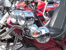 Фары мотоцикла Стоковое Изображение RF