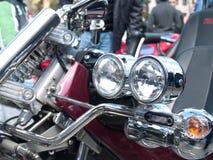 Фары мотоцикла Стоковые Изображения