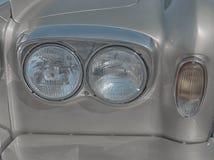 Фары старого автомобиля Стоковое Фото