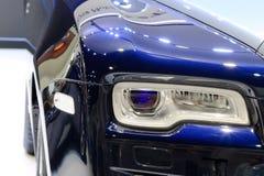 Фары Rolls Royce Стоковые Фотографии RF