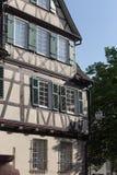 фасады города рамок в южной Германии Стоковая Фотография