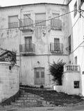 Фасад в Cadaques Испании Стоковое Изображение RF