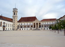 Фасад главного здания Coimbra стоковые изображения rf