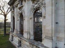 Фасад дворца Cantacuzino в Floresti, Румынии стоковые фотографии rf