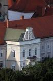 Фасад дворца ` s архиепископа в Загребе Стоковая Фотография RF