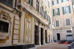 Фасад дворца Spinola Стоковые Изображения