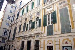 Фасад дворца Spinola Стоковые Изображения RF