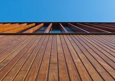 фасад деревянный Стоковое Изображение RF
