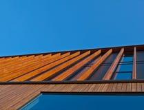 фасад деревянный Стоковые Изображения RF