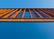 фасад деревянный Стоковая Фотография