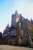 Фасад детали зодчества замока Cochem Стоковая Фотография RF