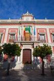 Фасад дома провинции в Севилье Стоковые Изображения RF