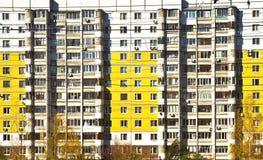 фасад жилого дома Стоковые Фотографии RF