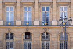 Фасад здания. Стоковое фото RF
