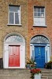 фасад Ирландия dublin стоковые изображения rf