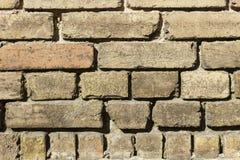 Фасад кирпича дома Стоковые Фото