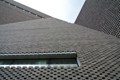 Фасад кирпича Стоковое Фото