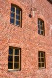 Фасад кирпича Стоковое Изображение
