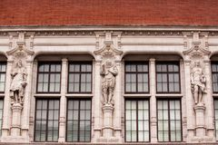 Фасад музея Виктории и Альберта стоковые изображения