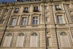 фасад парижский Стоковое Изображение
