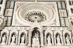 Фасад собора Флоренса Стоковое Фото
