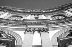 Фасад собора Vigevano r стоковые фотографии rf