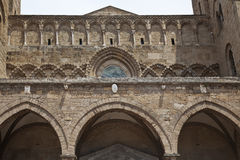 фасад старая Сицилия Стоковая Фотография