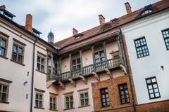 Фасад старинного здания Стоковые Фотографии RF