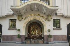 Фасад стиля Арт Деко стоковые изображения