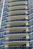 Фасад Ультра-современной башни кондо Стоковое Изображение RF