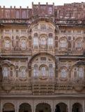 Фасад форта Mehrangarh стоковые изображения