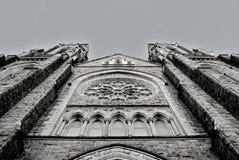 фасад церков собора Стоковая Фотография