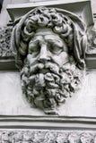 Фасад элемента здания Будапешта Стоковая Фотография