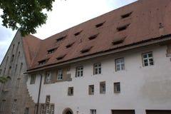 Фасад Augustiner-Chorherrenstift западный Стоковые Фото