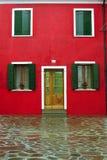фасад burano Стоковое Изображение