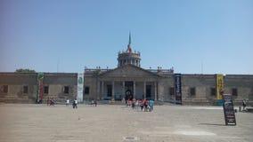 Фасад Instituto культурный Cabañas на солнечный день стоковое изображение